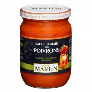 Sauce tomate aux poivrons 240g