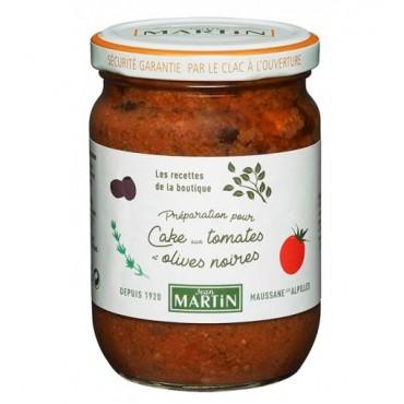 Cake aux tomates et olives noires 240g