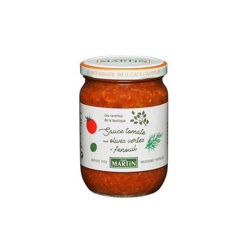 Sauce tomate aux olives vertes 240g