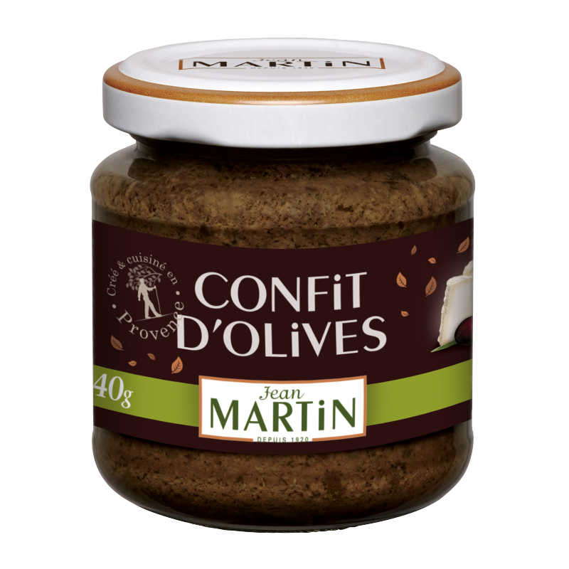 Confit d'olives 140g