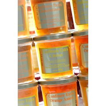 Confiture à l'orange amère 350g