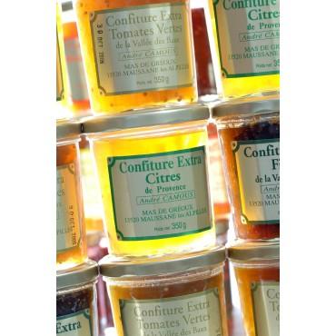 Confiture de tomates vertes de Provence 350g