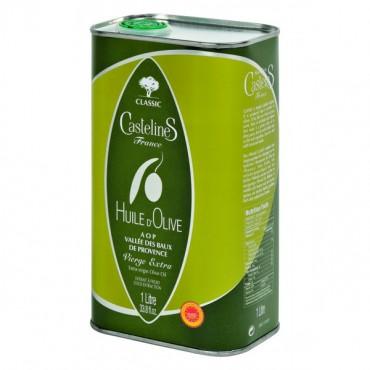 Huile d'olive fruité vert en bidon 1L