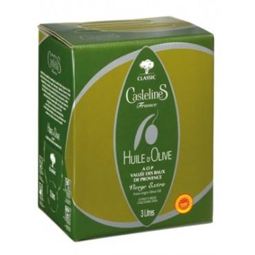 Huile d'olive fruité vert en Bag in Box 3L