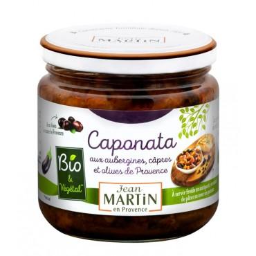 Caponata aux aubergines Bio