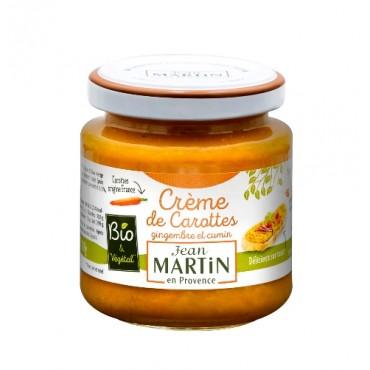 Crème de carottes bio