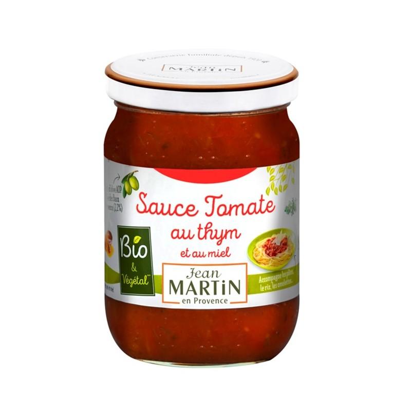 Sauce tomate au thym bio 240g