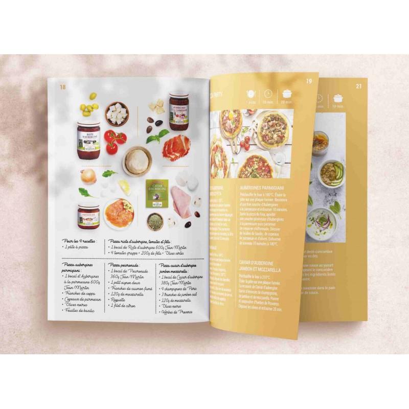 guide recettes Jean Martin page pizza