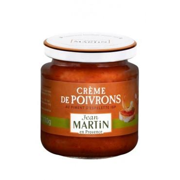 Crème de poivrons 110g