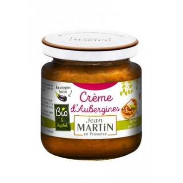 Crème d'aubergines Bio 110g