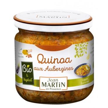 Quinoa aux aubergines Bio 345g