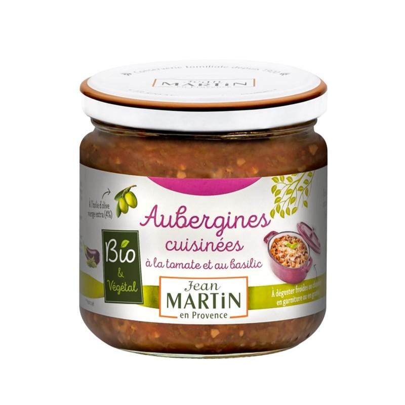 Aubergines cuisinées Bio 360g