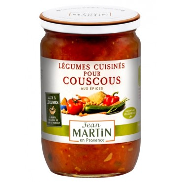 Légumes cuisinés pour couscous 600g