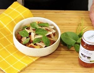 Gnocchis à la Riste d'aubergine